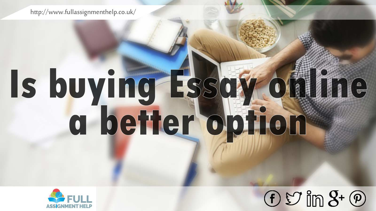 Can you buy essays online